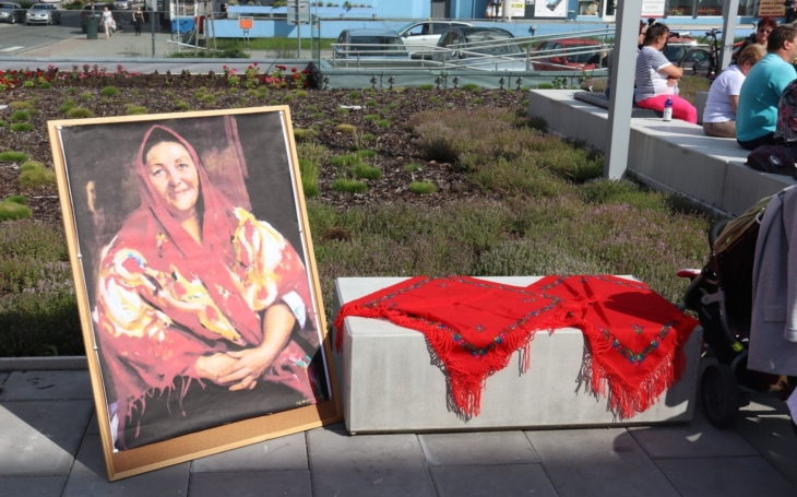 Valašská královna má své náměstí. Proslavila nás po celém světě, teď v tom pokračuje její dcera