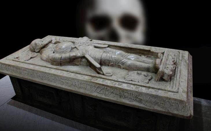 Hrobka vydává svědectví. Krvelačná bestie Kateřina z Komárova strhávala kůži zaživa, polévala žhavým máslem a… proklela slavného Pernštejna