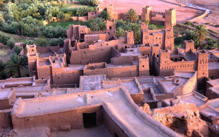 Natáčeli tu Gladiátora. Hliněné město ksar Aït Benhaddou, zvané Hollywood v poušti. S cestovatelem Milošem Beranem posedmé do Maroka