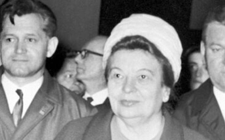 Paní Columbová na Pražském hradě. Hodná tuctovka z fabriky se nikdy nepřestala stydět. Tajnosti slavných