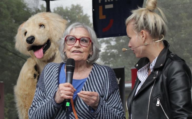 Na jednu stage postavte Martu Kubišovou a Martu Jandovou… Super den Helppes v Motole se vydařil