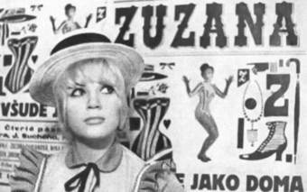 Finally Zuzana!  Extraordinary voice, guitar, comedic talent… Jiří Suchý influenced to resist and cut her braid.  Secrets of celebrities